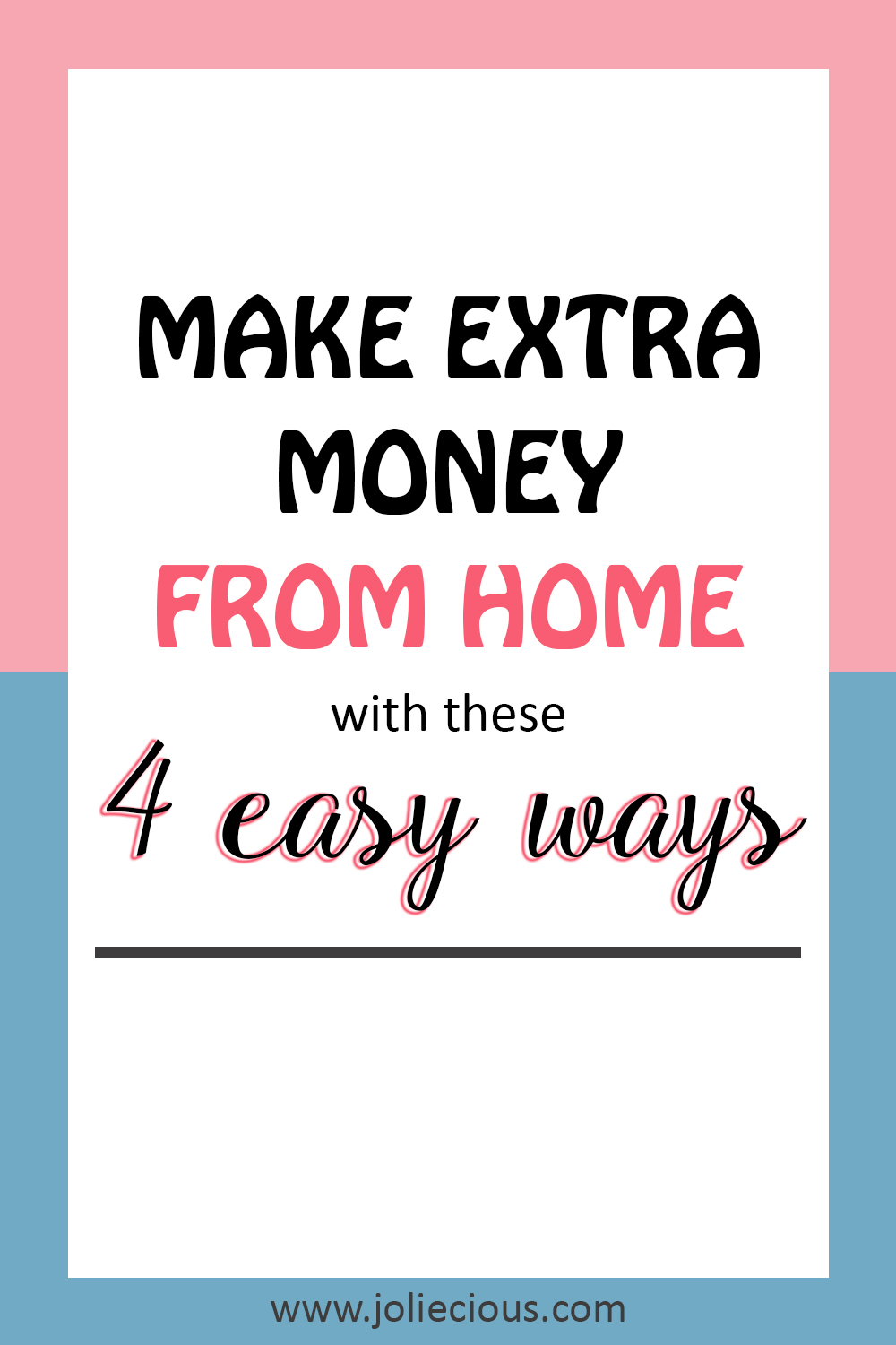 legitimate to make extra money from home