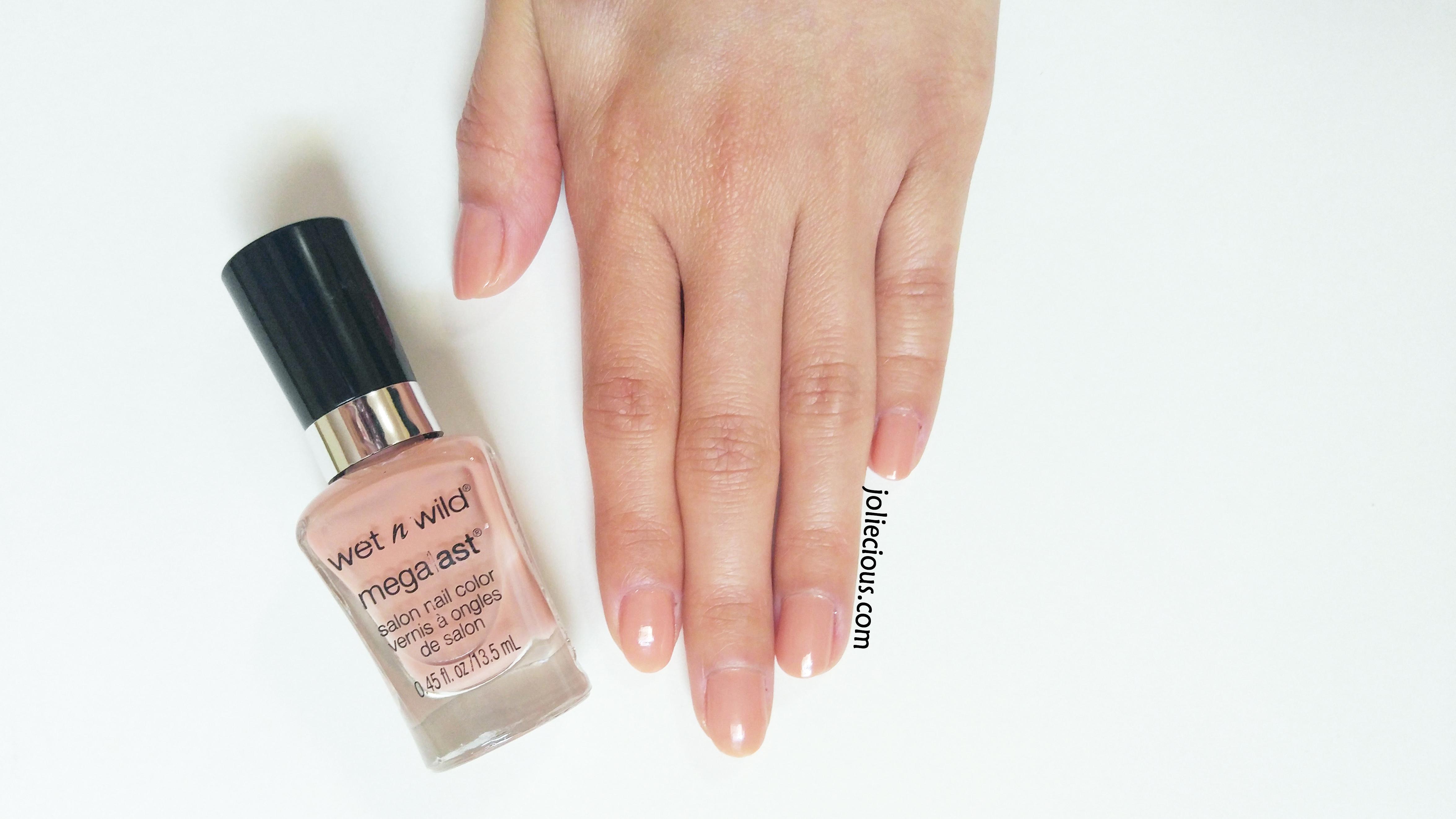 High heel nails - base color