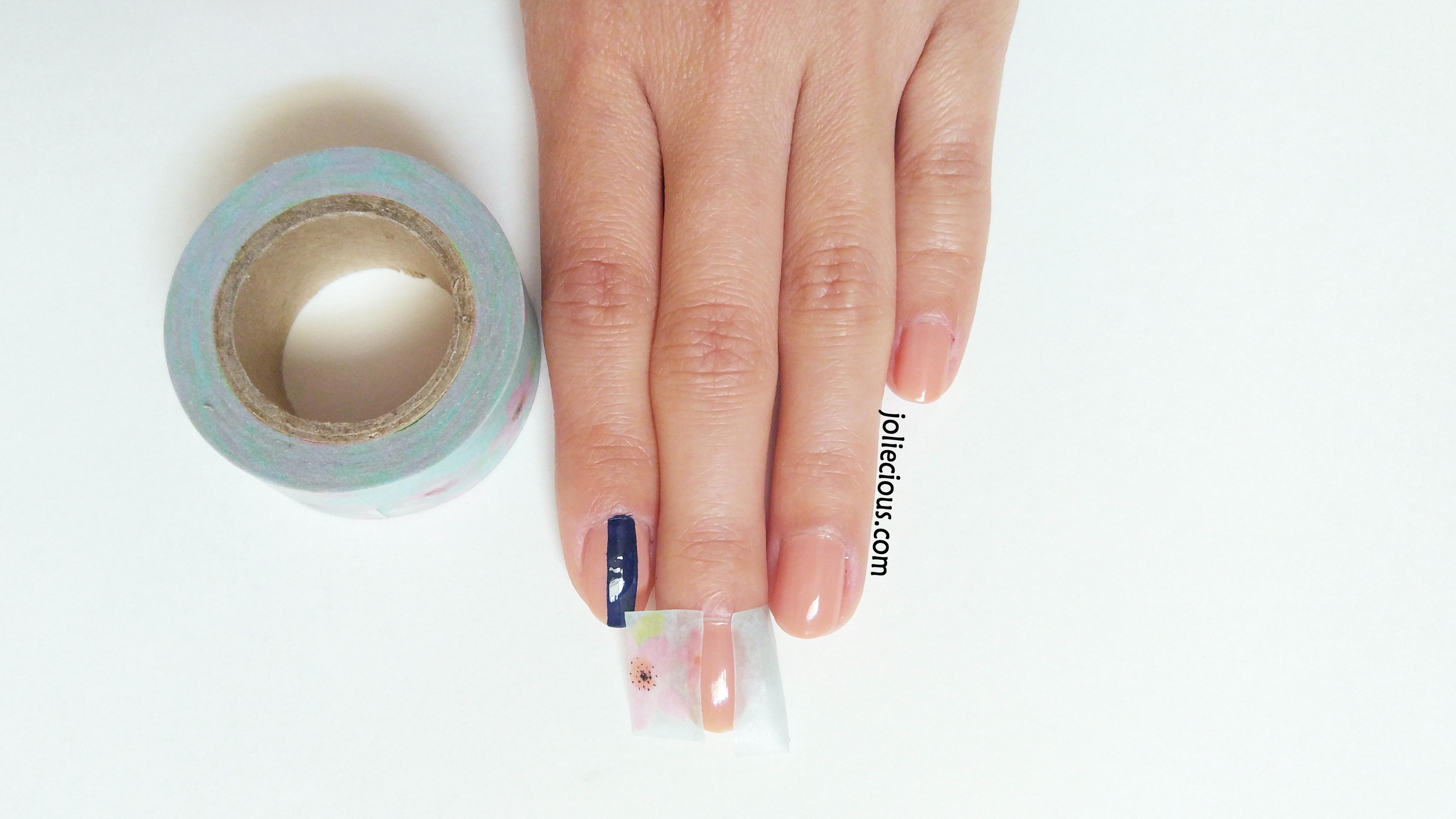 High heel nails - tape