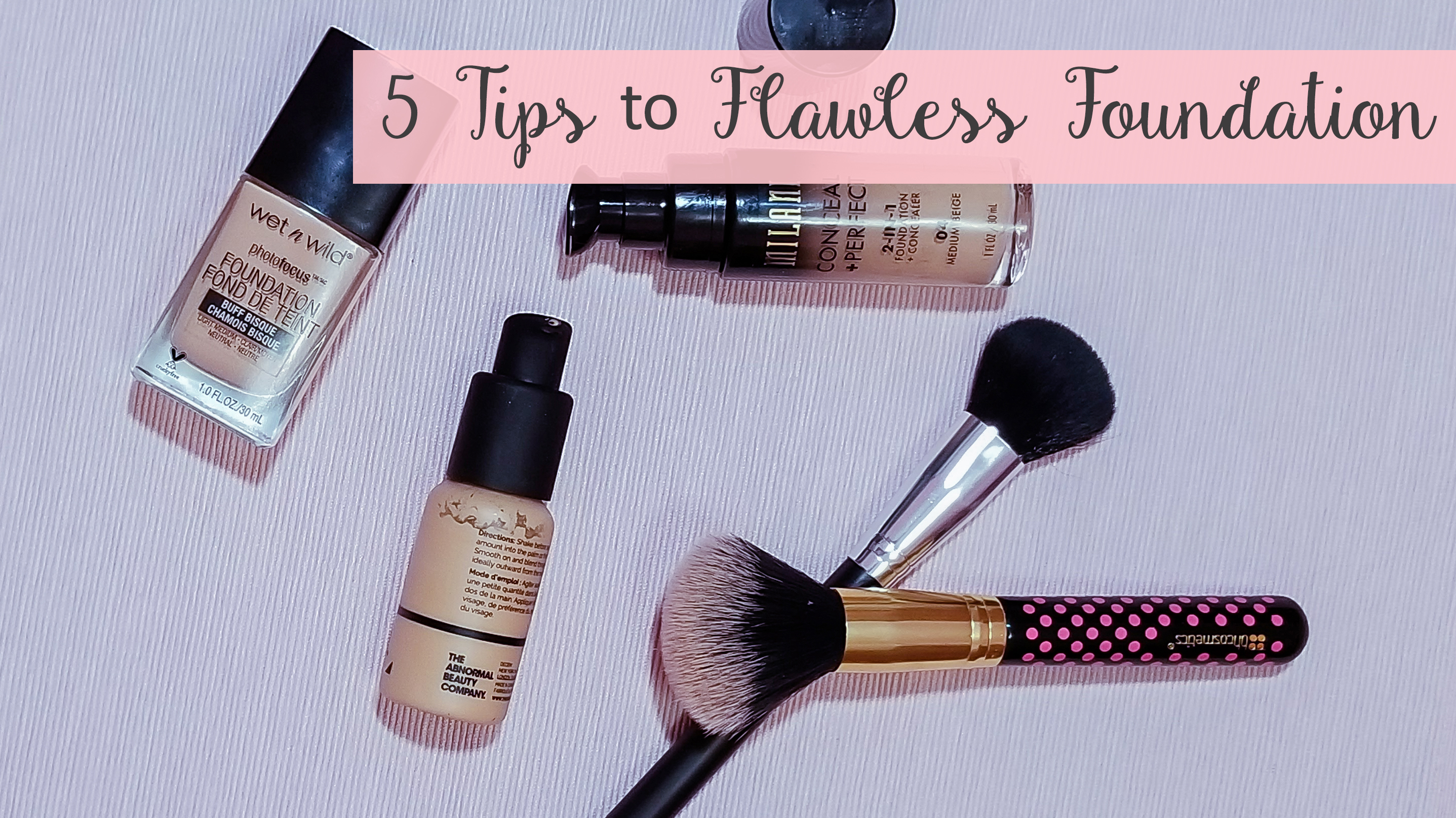 5 Tips to Make Foundation Look Flawless