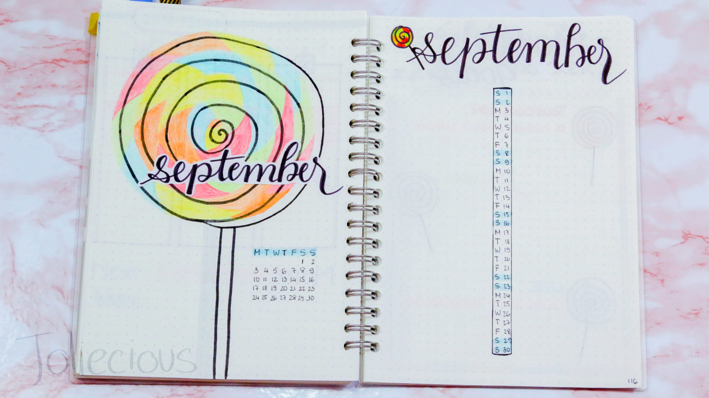 September Bullet Journal Theme & Cover Page Ideas (Free Printables Included)