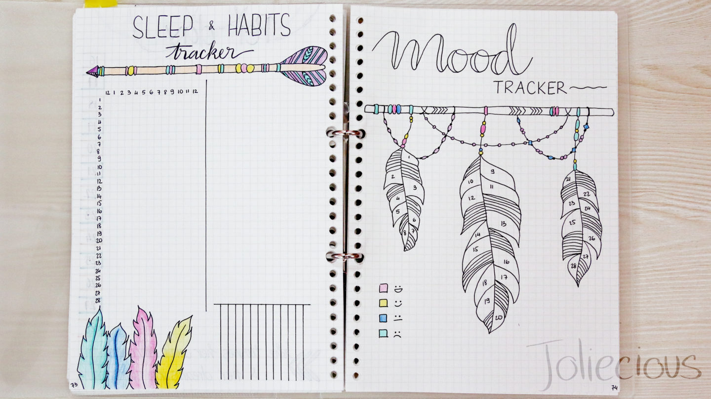 10 Fun Mood Trackers for Your Bullet Journal