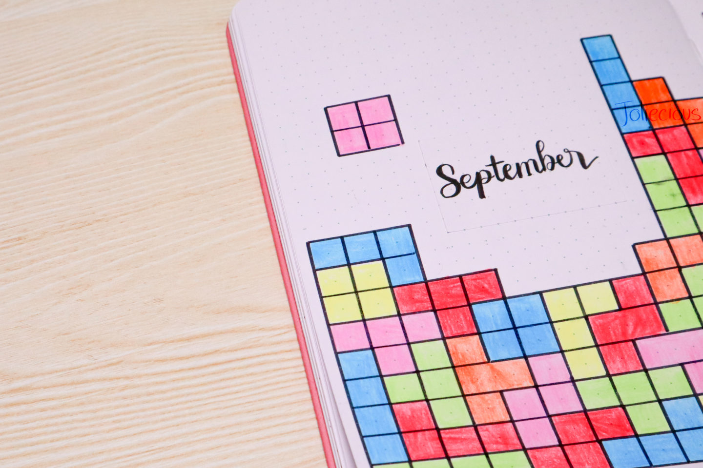 September 2019 Bullet Journal Setup