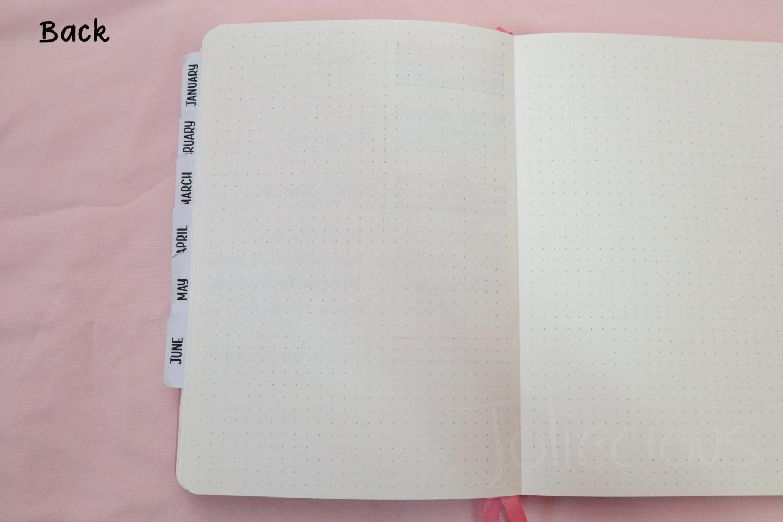 cheap bullet journal notebook