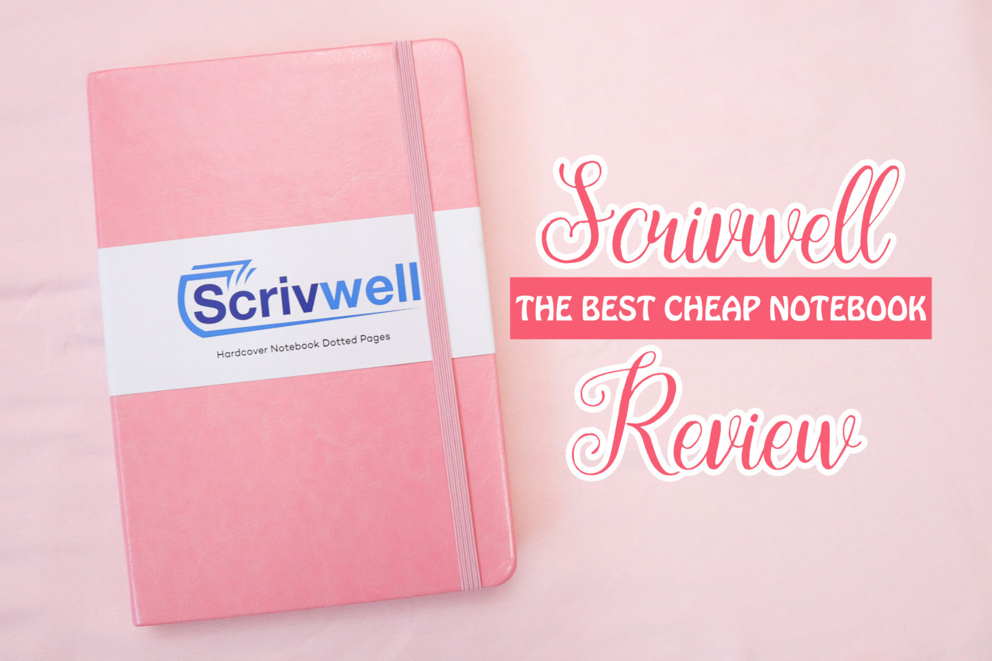 Cheap Bullet Journal Notebook Review: Scrivwell A5 Hard-Cover